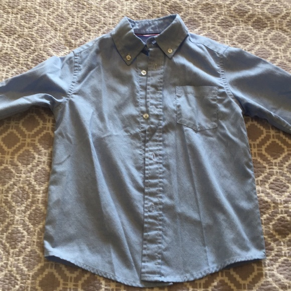 French Toast Other - Boys Blue button down shirt